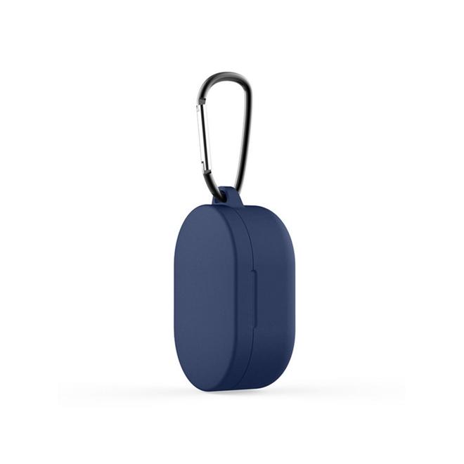 Capa Protetora de Silicone com Mosquetão para Earbuds