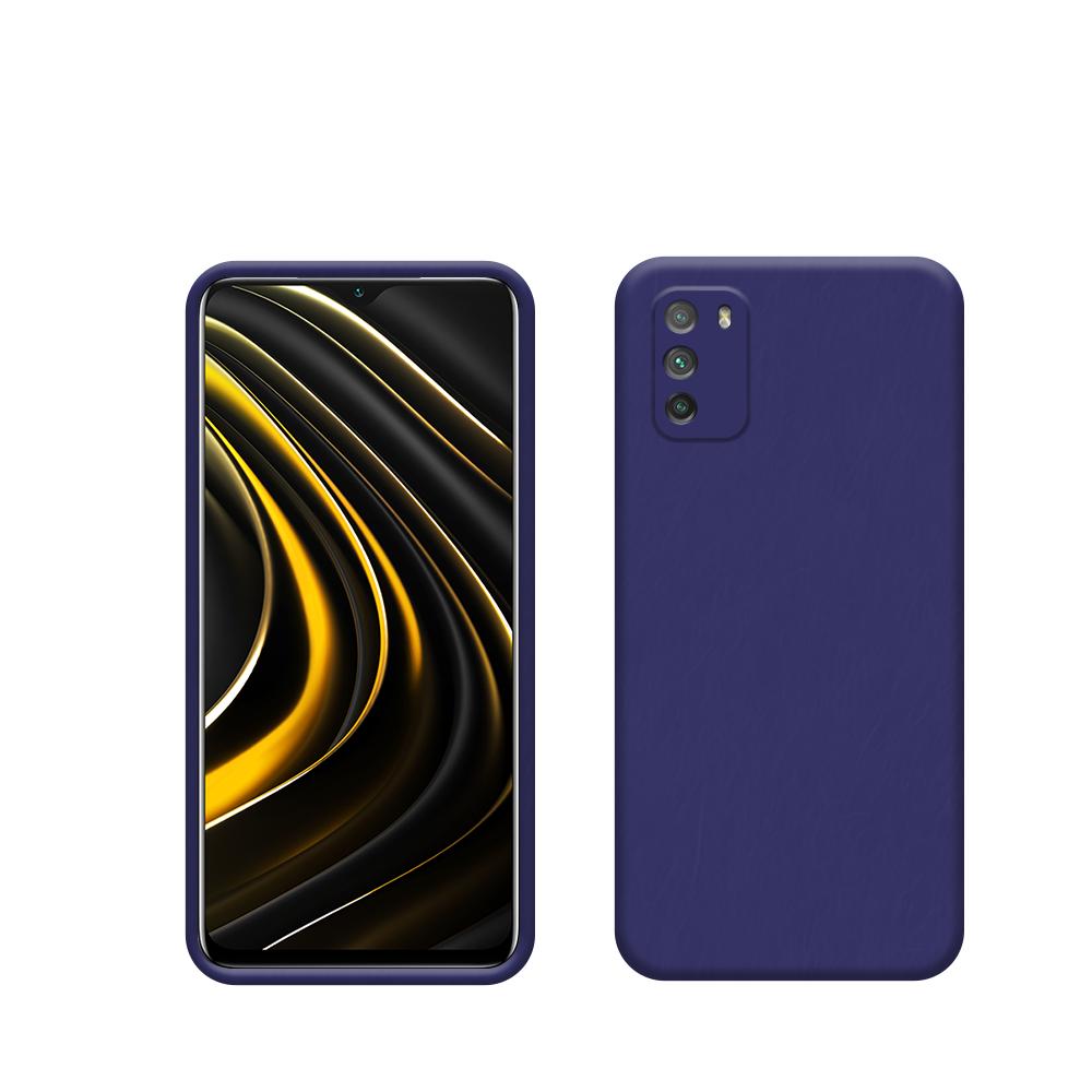 Capa Protetora de Silicone Smartphone Xiaomi POCO M3
